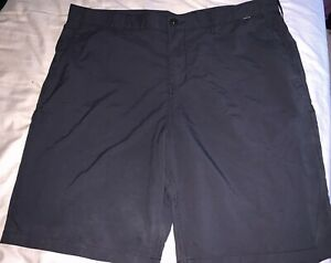 Mens Hurley Nike Dri Fit Golf Casual Shorts Size 38 Black Excellent Condition $14.75