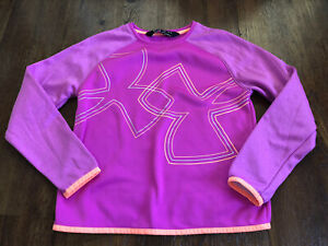 Under Armour Sweatshirt Orchid Sz 10 12 YMED NWOT $13.95