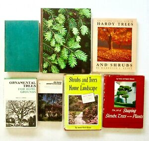 TREES amp; SHRUBS Lot of 7 Books: Planting Shaping Landscaping