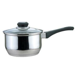 CULINARY EDGE - Saucepan with Glass Cover - 1-Quart