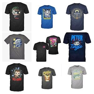 Buy 1 Get 1 30% OFF Funko Pop Tees Unisex Add 2 to Cart for Discount $11.99