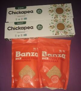 Chickapea Organic Chickpea Lentil Pastanoodles and Rice 4 pack
