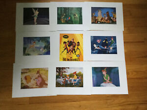 Lot of 9 McGaw Group Disney Lithographs $30.00