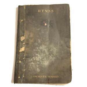 Hymns Ancient and Modern for Use in the Services of the Church 1869 Antique Book $19.99