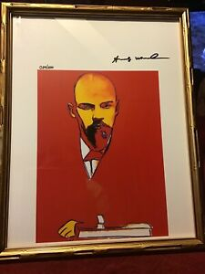 Andy Warhol 1987 Original Lithograph Hand Signed with COA # 29  200 $295.50