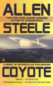 Coyote, Paperback by Steele, Allen M., Acceptable Condition, Free shipping in...