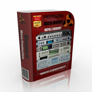 Reason Rack Mount Refill Library: digital delivery Quality Sound Modules $50.00