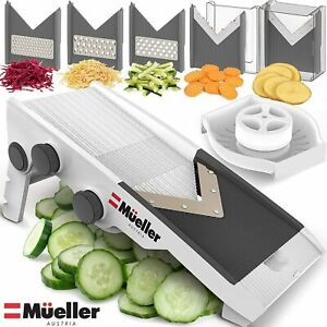 V-Pro Multi Blade Adjustable Mandoline Cheese/Vegetable Slicer, Cutter,Shredder