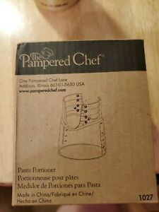 The Pampered Chef Pasta Portioner Item #1027 New in Box