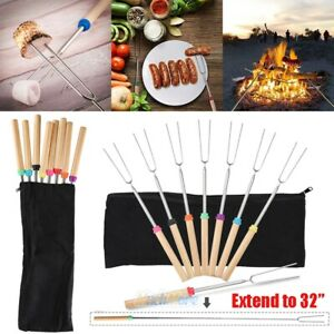 Set of 8 Marshmallow Roasting Sticks 32