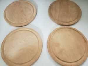 Crate and Barrel Serving Cutting Boards 4 Pieces