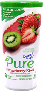 Crystal Light Pure Kiwi Strawberry 2 Canisters Drink Mix (POST DATE)
