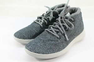 Allbirds Men#x27;s Wool Runner up Mizzles Natural Grey Grey Sole Shoes NW OB