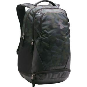 Under Armour UA STORM Hustle 3.0 19'' Backpack Camo Black Bag New with Tags $37.95
