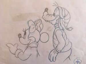 MICKEY MOUSE & Friends - Original Prod Illustration Art Drawings (Walt Disney) $9.00