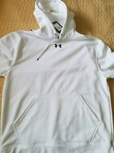 Under Armour Cold Gear Hoodie MD White $30.00