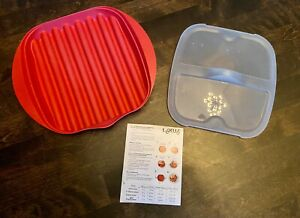Lekue Microwave Bacon Maker Cooker New without Box