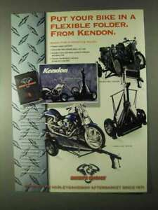 1999 Biker#x27;s Choice Kendon Motorcycle Trailers Ad