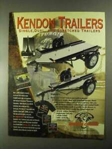 2000 Biker#x27;s Choice Kendon Motorcycle Trailers Ad