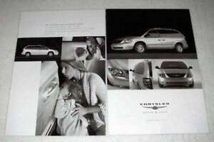2003 2 page Chrysler Town Country Limited Minivan Ad $16.99