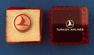Turkish Airlines Lapel Pin New in Case
