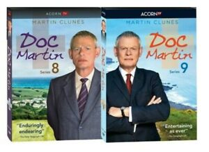 Doc Martin Series Seasons 8 9 DVD Region 1 USA Canada