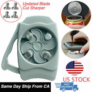 Go Swing Topless Can Opener Kitchen Bar Tool Safety Manual Opener Beer and Can