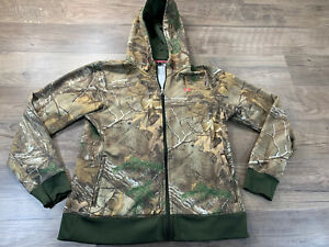 Under Armour Woman's Lg Loose Camo Full Zip Hoodie $14.95