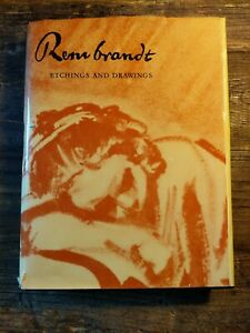 Rembrandt Etchings And Drawings Hardcover $50.00