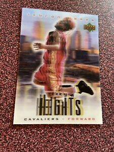Lebron James 2003 Upper Deck Redemption Special City Heights RC Cleveland Cavs