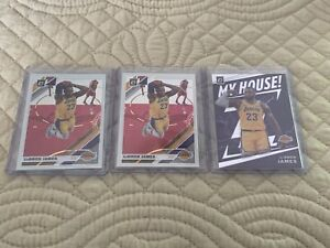 2019 20 Panini Optic Basketball Lebron James 3 Card Lot 2 Base
