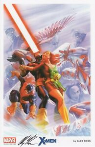 ALEX ROSS X MEN FINE ART PRINT SDCC 2014 SIGNED 11quot;X17quot; $69.99