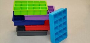 Ice Maker Silicone Cube Tray Lid Jelly Cocktail with for Mold Trays Whiskey $5.00