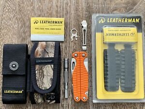New Limited Edition Leatherman Charge Plus Multitool Orange G10 S30V MAX KIT