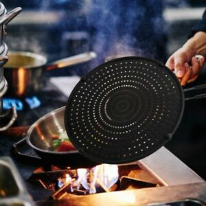 32cm Silicone Splatter Screen Guard Nonstick Oil Grease Pan Lid