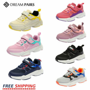 DREAM PAIRS Kids Boys Girls Sneakers Running Shoes Outdoor Athletic Tennis Shoes $23.75