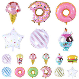 14PCS Giant Popcorn Food Party Birthday Balloons 25inch Balloons Pack Birthday