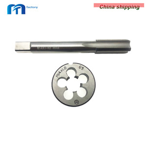 M14 X 1.0mm Plug Right Tap and M14 X 1.0mm Right Die Threading Tool HSS New $8.84