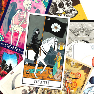 13 DEATH Tarot Card Stickers Grim Reaper Stickers SALE