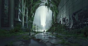 SIGNED The Last of Us Part II 2 Pike Street Lithograph Poster Giclee art print $185.50