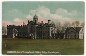 1907 15 Chester PA View of Pennsylvania Military College from Campus DB Postcard $12.99