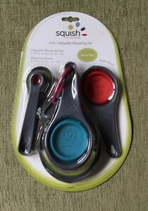 Squish 8 Pc Multicolored Collapsible Measuring Set $6.00