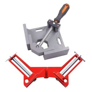 2X Woodworking Fixture Welding Right Angle Clip 90 Degree Fixing Clip 1 Red X3A6 $89.99
