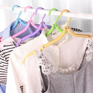 3X 20 Pieces of Folding Folding Hangers Portable Hangers Outdoor Travel Mul X5G0