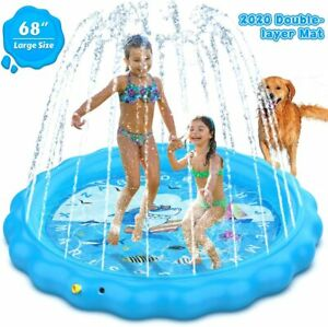 Dillitop Sprinkler for Kids Splash Pad Wading Pool and Kiddie Pool Summer Out