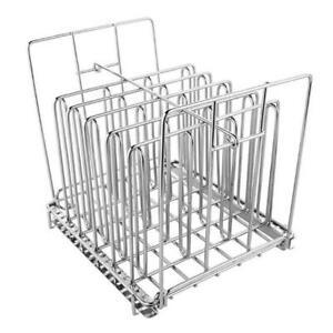 Detachable Slow Cooking Food Separation Rack Dividers Durable Stainless Steel