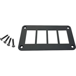 Moose Utility Division Universal Dash Plate 4 Switches 4PP ADA $16.12