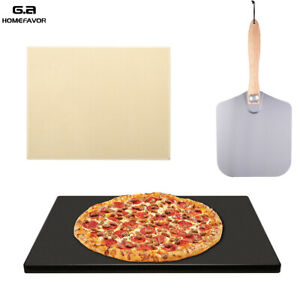 Aluminum Pizza Peel Paddle with Foldabe Handle Pizza Stone for Grill amp;Oven BBQ