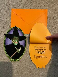 Wizard of Oz Halloween card