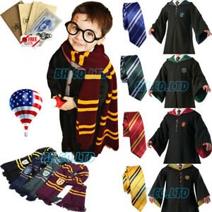 *RobeTieScarf* Harry Potter Costume Gryffindor Halloween Cosplay Party Xmas US $35.75